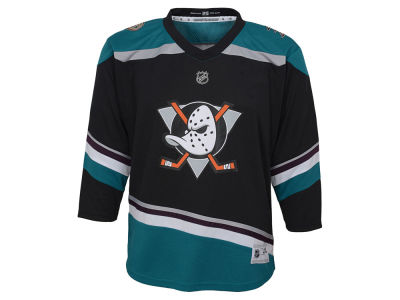 Anaheim Ducks Outerstuff NHL Youth Alternate Blank Replica Jersey