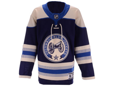 Columbus Blue Jackets Outerstuff NHL Youth Alternate Blank Premier Jersey