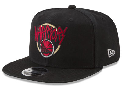 Golden State Warriors New Era NBA 90S Throwback Tour 9FIFTY Snapback Cap