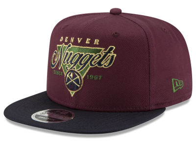 Denver Nuggets New Era NBA 90S Throwback 9FIFTY Snapback Cap