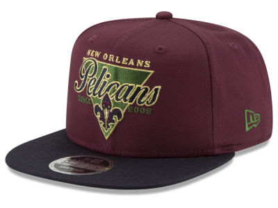 New Orleans Pelicans New Era NBA 90S Throwback 9FIFTY Snapback Cap