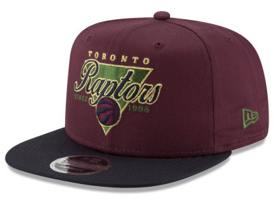 Toronto Raptors New Era NBA 90S Throwback 9FIFTY Snapback Cap