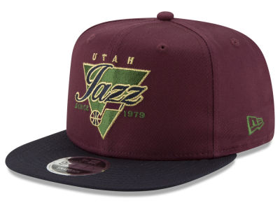 Utah Jazz New Era NBA 90S Throwback 9FIFTY Snapback Cap