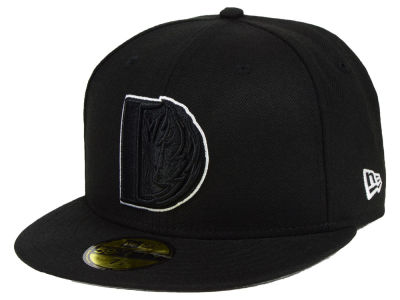 Dallas Mavericks New Era NBA Combo Logo 59FIFTY Cap