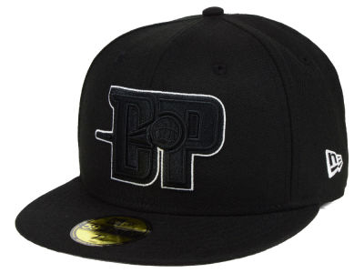 Detroit Pistons New Era NBA Combo Logo 59FIFTY Cap