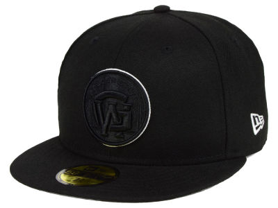Golden State Warriors New Era NBA Combo Logo 59FIFTY Cap