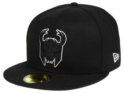 Milwaukee Bucks New Era NBA Combo Logo 59FIFTY Cap
