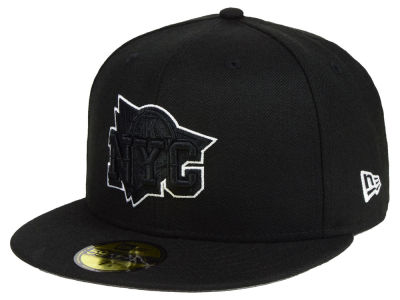 New York Knicks New Era NBA Combo Logo 59FIFTY Cap