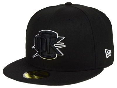 Oklahoma City Thunder New Era NBA Combo Logo 59FIFTY Cap