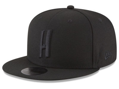Atlanta Hawks New Era NBA Alpha Triple Black 59FIFTY Cap