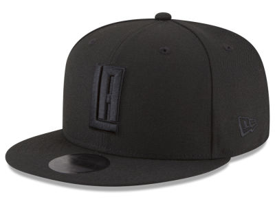 Los Angeles Clippers New Era NBA Alpha Triple Black 59FIFTY Cap
