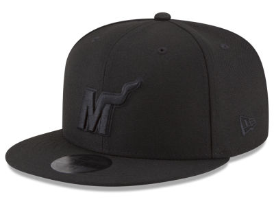 Miami Heat New Era NBA Alpha Triple Black 59FIFTY Cap