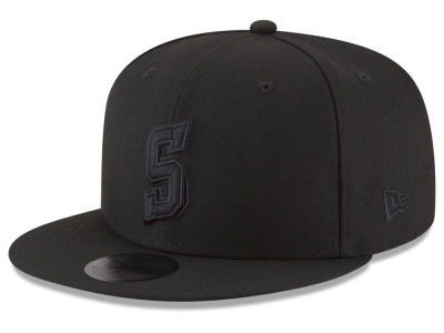 Philadelphia 76ers New Era NBA Alpha Triple Black 59FIFTY Cap