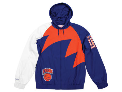 New York Knicks Mitchell & Ness NBA Men's Shark Tooth Jacket