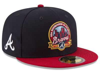 Atlanta Braves New Era MLB Ultimate Patch Collection Front 59FIFTY Cap
