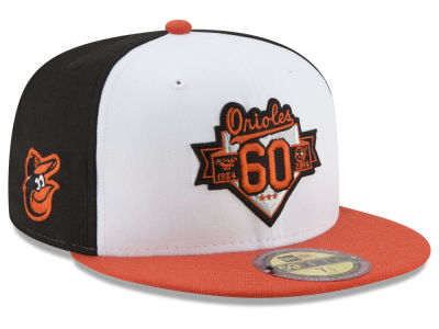 Baltimore Orioles New Era MLB Ultimate Patch Collection Front 59FIFTY Cap