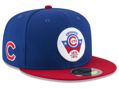 Chicago Cubs New Era MLB Ultimate Patch Collection Front 59FIFTY Cap