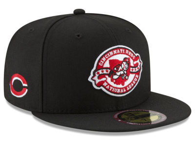 Cincinnati Reds New Era MLB Ultimate Patch Collection Front 59FIFTY Cap