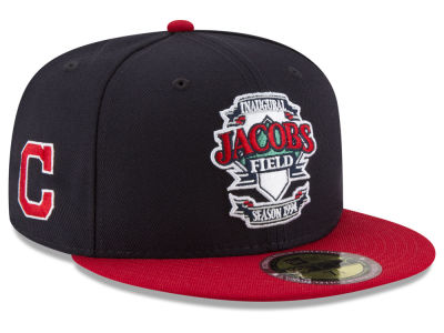 Cleveland Indians New Era MLB Ultimate Patch Collection Front 59FIFTY Cap