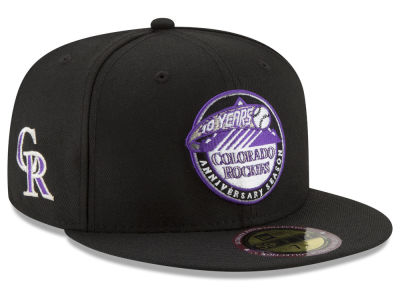 Colorado Rockies New Era MLB Ultimate Patch Collection Front 59FIFTY Cap