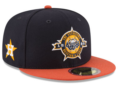 Houston Astros New Era MLB Ultimate Patch Collection Front 59FIFTY Cap