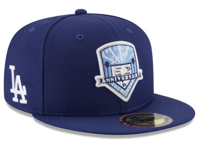 Los Angeles Dodgers New Era MLB Ultimate Patch Collection Front 59FIFTY Cap