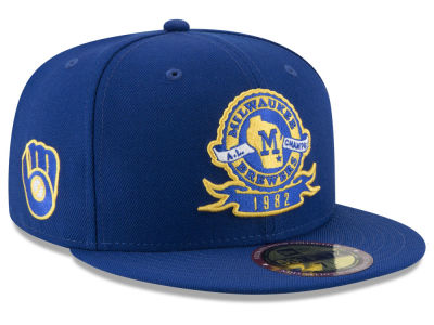 Milwaukee Brewers New Era MLB Ultimate Patch Collection Front 59FIFTY Cap