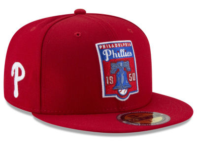 Philadelphia Phillies New Era MLB Ultimate Patch Collection Front 59FIFTY Cap