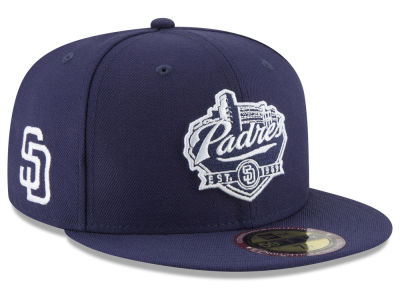 San Diego Padres New Era MLB Ultimate Patch Collection Front 59FIFTY Cap