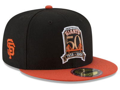 San Francisco Giants New Era MLB Ultimate Patch Collection Front 59FIFTY Cap