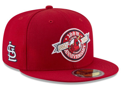 St. Louis Cardinals New Era MLB Ultimate Patch Collection Front 59FIFTY Cap