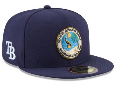 Tampa Bay Rays New Era MLB Ultimate Patch Collection Front 59FIFTY Cap