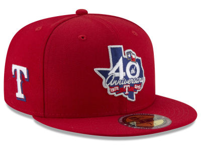 Texas Rangers New Era MLB Ultimate Patch Collection Front 59FIFTY Cap