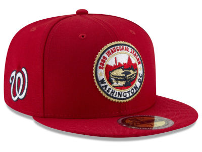 Washington Nationals New Era MLB Ultimate Patch Collection Front 59FIFTY Cap