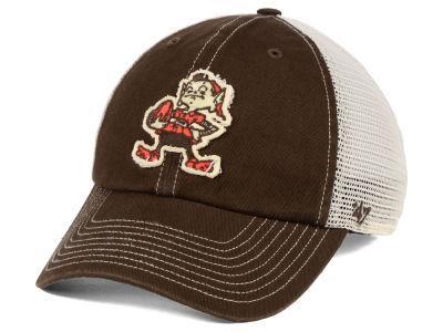 Cleveland Browns '47 NFL Canyon Mesh CLEAN UP Cap