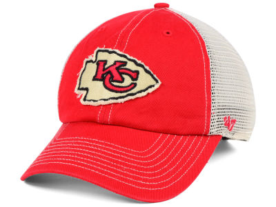 Kansas City Chiefs '47 NFL Canyon Mesh CLEAN UP Cap