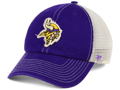 Minnesota Vikings '47 NFL Canyon Mesh CLEAN UP Cap