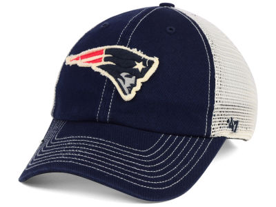 fd789744937 New England Patriots  47 NFL Canyon Mesh CLEAN UP Cap