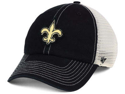 New Orleans Saints '47 NFL Canyon Mesh CLEAN UP Cap