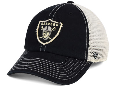 Oakland Raiders '47 NFL Canyon Mesh CLEAN UP Cap