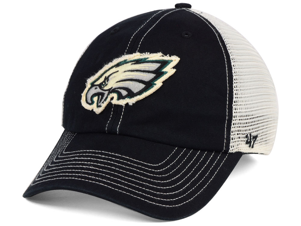 Philadelphia Eagles  47 NFL Canyon Mesh CLEAN UP Cap  a075db99cf9