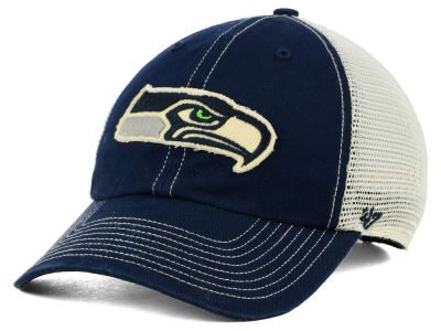 Seattle Seahawks '47 NFL Canyon Mesh CLEAN UP Cap
