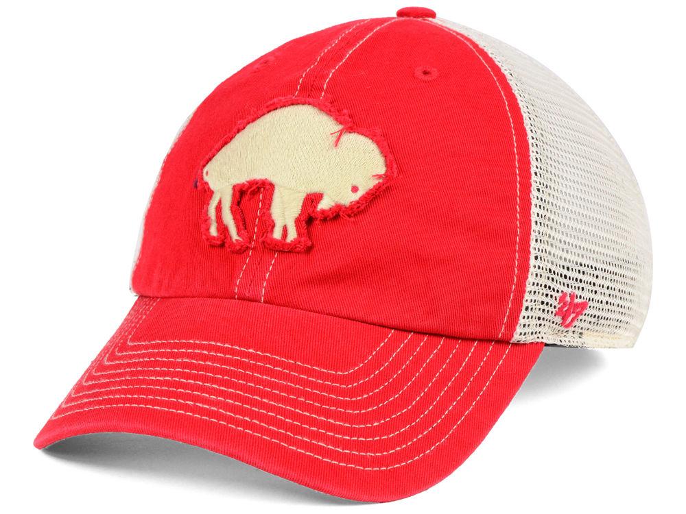 7b112023cda Buffalo Bills  47 NFL Canyon Mesh CLEAN UP Cap
