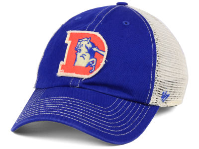 Denver Broncos '47 NFL Canyon Mesh CLEAN UP Cap