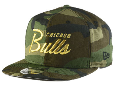 Chicago Bulls New Era NBA Classic Script 9FIFTY Snapback Cap
