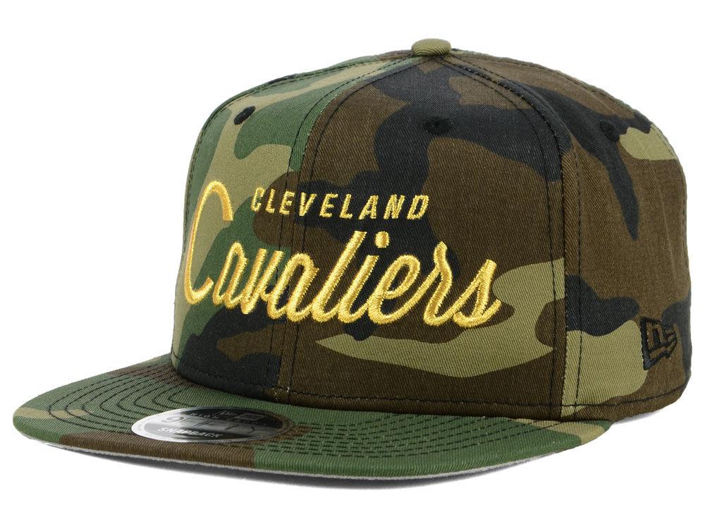 a8a3aecc66f Cleveland Cavaliers New Era NBA Classic Script 9FIFTY Snapback Cap ...