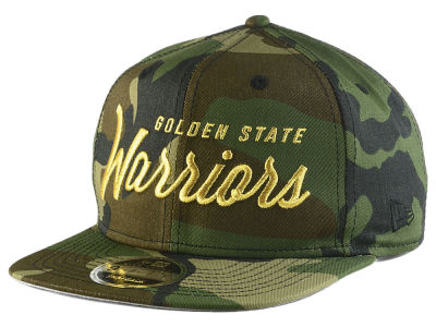Golden State Warriors New Era NBA Classic Script 9FIFTY Snapback Cap