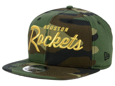 Houston Rockets New Era NBA Classic Script 9FIFTY Snapback Cap