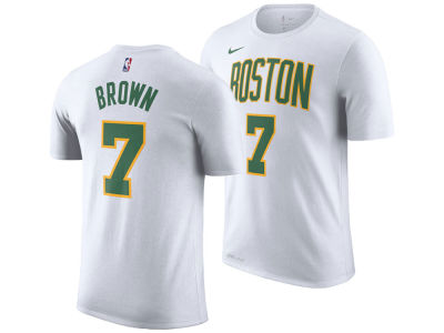 Boston Celtics Jaylen Brown Nike 2018 NBA Men's City Player T-shirt
