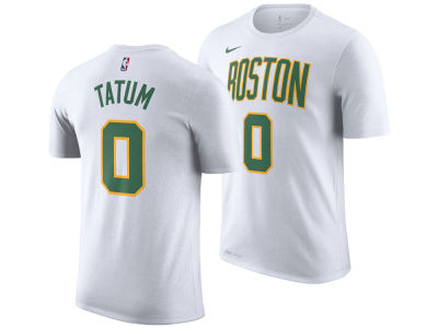 Boston Celtics Jayson Tatum Nike 2018 NBA Men's City Player T-shirt